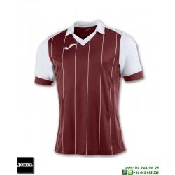 JOMA Camiseta GRADA Futbol ROJO GRANATE - BLANCO 100680.672 equipacion
