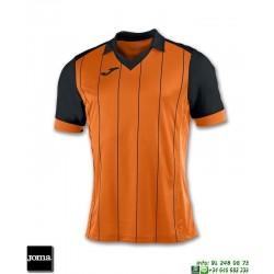 JOMA Camiseta GRADA Futbol NARANJA - NEGRO 100680.801 equipacion