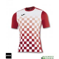 JOMA Camiseta FLAG Futbol ROJO - BLANCO 100682.602 equipacion