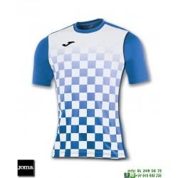 JOMA Camiseta FLAG Futbol AZUL ROYAL - BLANCO 100682.702 equipacion