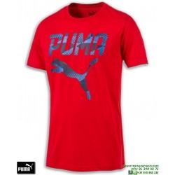 Camiseta Puma BRAND TEE Rojo 590959-18