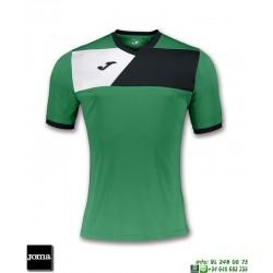 JOMA Camiseta CREW II Futbol VERDE 100611.451 equipacion