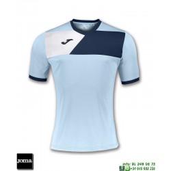 JOMA Camiseta CREW II Futbol AZUL CELESTE 100611.353 equipacion