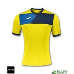 JOMA Camiseta CREW II Futbol AMARILLO 100611.903 equipacion