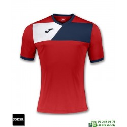 JOMA Camiseta CREW II Futbol ROJO 100611.603 equipacion