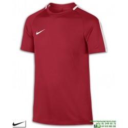 Camiseta Deporte Junior NIKE Y NK DRY ACDMY TOP SS Poliester DRI FIT Rojo 832969-657