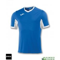 JOMA Camiseta CHAMPION IV Futbol AZUL ROYAL BLANCO 100683.702