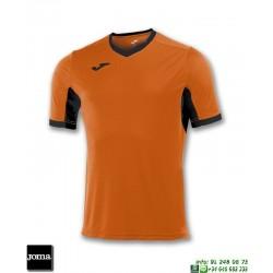 JOMA Camiseta CHAMPION IV Futbol NARANJA - NEGRO 100683.801