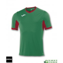 JOMA Camiseta CHAMPION IV Futbol VERDE - ROJO 100683.456