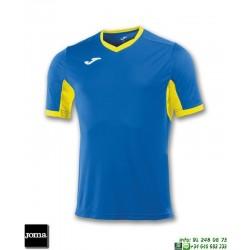JOMA Camiseta CHAMPION IV Futbol AZUL ROYAL - AMARILLO 100683.709