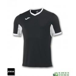 JOMA Camiseta CHAMPION IV Futbol NEGRO - BLANCO 100683.102