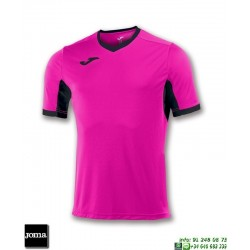 JOMA Camiseta CHAMPION IV Futbol ROSA - NEGRO 100683.031