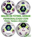Balón de Fútbol PERSONALIZADO Con FOTOS ADIDAS