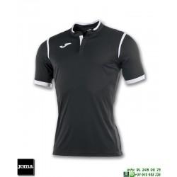 JOMA Camiseta TOLETUM Futbol NEGRO 100653.100 equipacion dry mx