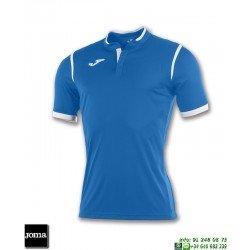 JOMA Camiseta TOLETUM Futbol AZUL ROYAL 100653.700 equipacion dry mx