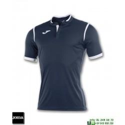 JOMA Camiseta TOLETUM Futbol AZUL MARINO 100653.331 equipacion dry mx
