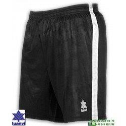 LUANVI Pantalon Corto CAMU Futbol NEGRO 08480-0044 short equipacion