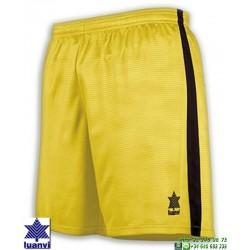 LUANVI Pantalon Corto CAMU Futbol AMARILLO 08480-0033 short equipacion