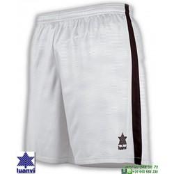 LUANVI Pantalon Corto CAMU Futbol BLANCO 08480-0999 short equipacion