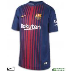 Camiseta FC BARCELONA 2017-2018 Niños Azulgrana Nike Oficial futbol