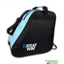 Bolsa para Patines KRF Negro-Azul