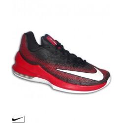 Bota Baloncesto NIKE AIR MAX INFURIATE LOW Negro-Rojo 852457-006 Hombre basket