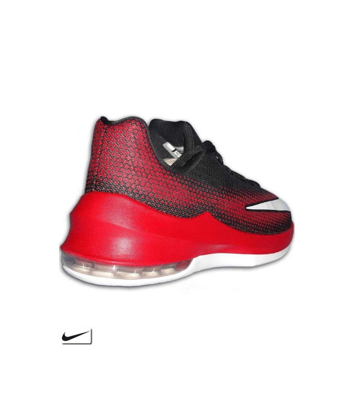 4803631e4d1 Bota Baloncesto NIKE AIR MAX INFURIATE LOW Negro-Rojo 852457-006 Hombre  basket. Bota Baloncesto NIKE AIR MAX INFURIATE ...