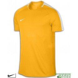 Camiseta Deporte NIKE M NK DRY ACDMY TOP SS Naranja Poliester