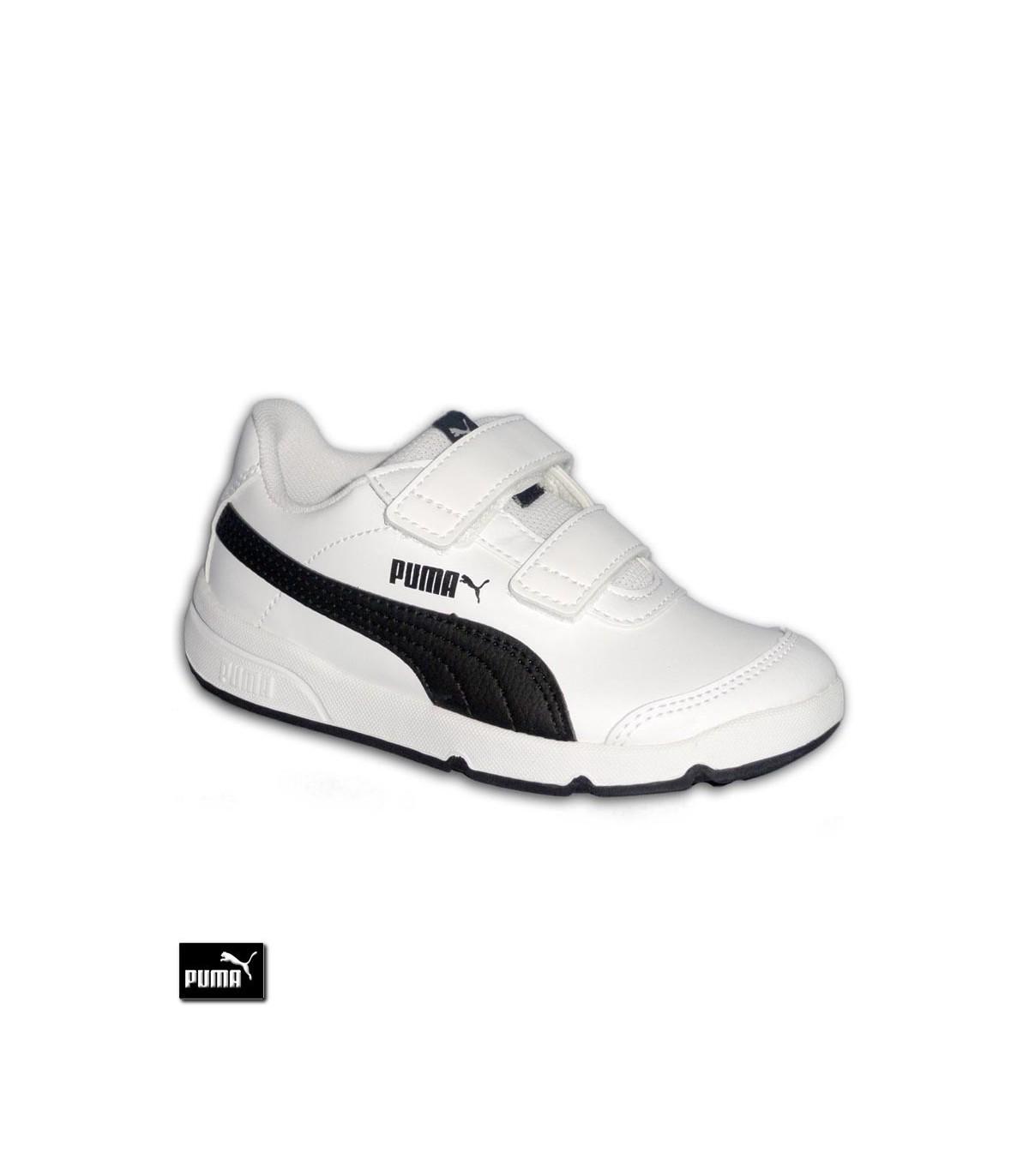 d3884ce1d61 ... Zapatilla Deporte Niños PUMA STEPFLEEX 2 SL V PS Velcro Blanco-Negro · Zapatilla  Deporte Ni