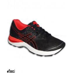 Asics GEL PULSE 9 Deportiva Running Hombre T7D3N-9006 Negro-Rojo