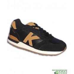 Zapatilla Sneakers KELME CHARLES 17 Negro-Champan