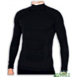 Camiseta Termica JOLUVI PERFORMANCE TEE Negro adulto niño manga larga futbol tenis atletismo