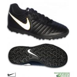 Nike TIEMPO RIO 4 Zapatilla Futbol Turf Negro-Blanco 897770-002 bota