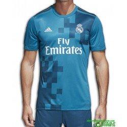Camiseta REAL MADRID 2017-2018 azul 3 Equipacion Adidas BR3539