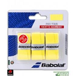 Babolat PRO TOUR Overgrip Tenis Amarillo 653037-113
