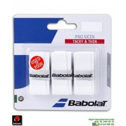 Babolat PRO SKIN Overgrip Tenis Blanco 653036-101