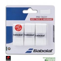 Babolat PRO TACKY Overgrip Tenis Blanco 653039-101