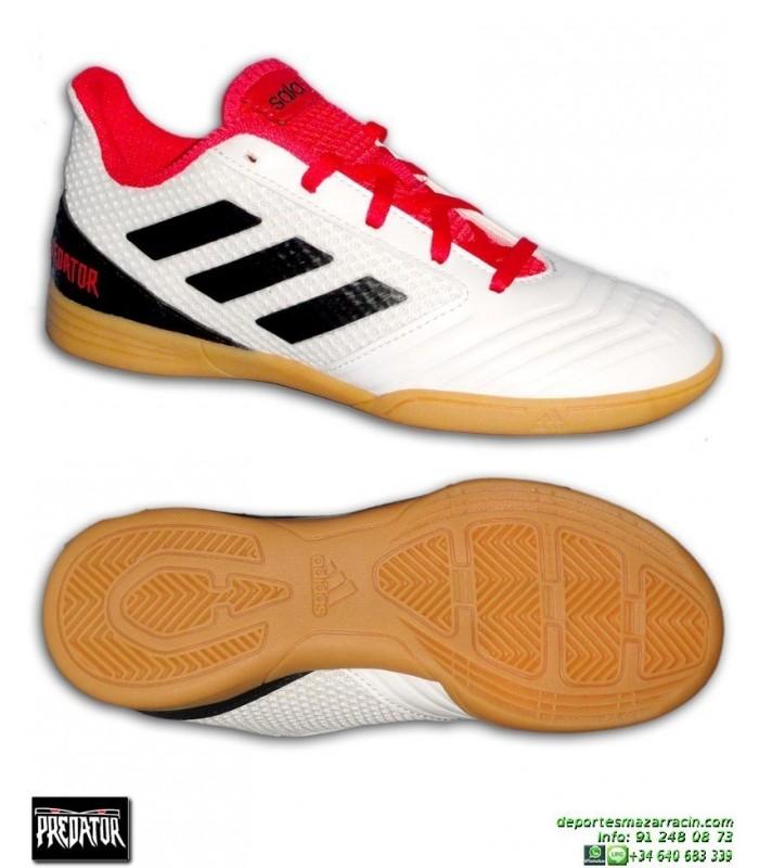 new concept c0140 6ce72 Adidas PREDATOR TANGO 18.4 Niños Negro Zapatilla Sala CP9259