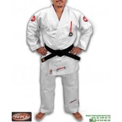 Kimono NKL Jiu Jitsu SHIRAKAWA Blanco Tradicional 16oz JJKIM00001WH
