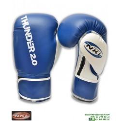 Guante Boxeo NKL THUNDER 2.0 Azul CGU00003-AZ