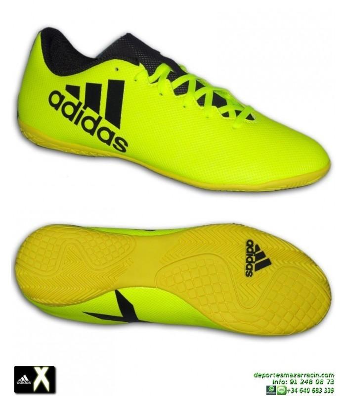 70a1a571cf3dd Adidas X 17.4 Amarillo Zapatilla bota Futbol Sala S82407 hombre Gareth Bale  Luis Suarez Marcelo morata