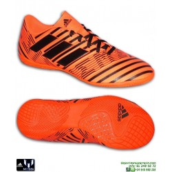Adidas NEMEZIZ 17.4 IN Naranja Zapatilla Futbol Sala hombre S82475 messi lucas vazquez