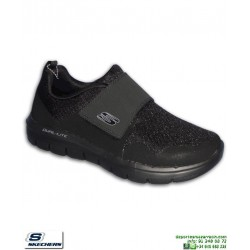 Zapatilla Hombre Skechers FLEX ADVANTAGE 2.0 GURN Negro Memory Foam 52183/BBK