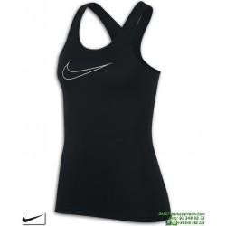 Camiseta Mujer NIKE PRO TANK Tirantes Negro 889560-010 Poliester dri fit