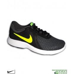Nike REVOLUTION 4 Negro Zapatilla Deportiva AJ3490-007 Hombre running