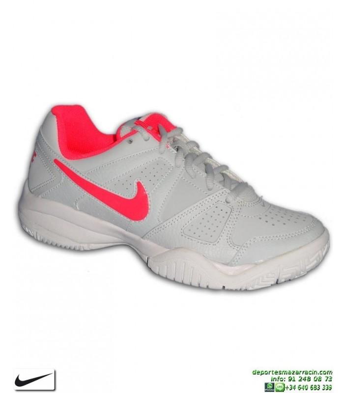 ca5d33768 Zapatilla Tenis Chica Nike CITY COURT 7 Gris-Rosa 488327-002 padel