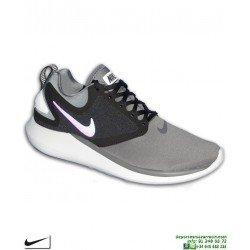 Nike LUNARSOLO Sneakers Gris-Negro Coleccion Presto zapatilla running deportiva moda AA4079-012