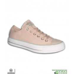Sneaker CONVERSE ALL STAR OX Beige Maquillaje Mujer 559889C