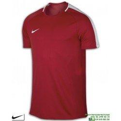 Camiseta Deporte NIKE DRY ACADEMY TOP SS Rojo Poliester dri fit Hombre 832967-657
