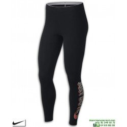 Malla Larga NIKE W NSW LGGNG JDI CLUB mujer Negro-Blanco 883657-010 just do it